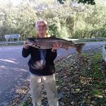 Tony Derrick - 15lb salmon